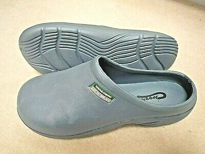 NEW Town & Country grey lightweight CLOGGIES--Size 5 UK adult.