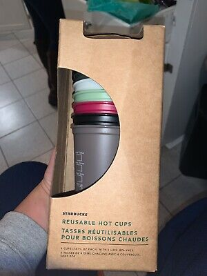 NEW Starbucks 2019 Fall Halloween Reusable Hot Cups Limited Edition