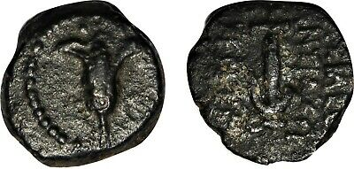 Seleucid Judaea, Jerusalem, Antiochus VII, 132/1 BC Genuine Ancient Greek Coin