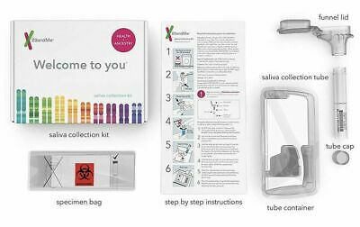 New 23andMe  Health and Ancestry DNA Genetic Testing and Analysis Oral Swab Kit