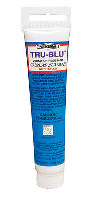 Rectorseal 31780 1-3/4-Ounce Tube Tru-Blu Pipe Thread Sealant