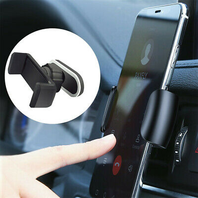 Automatic Car phone Holder 360Degree Air Vent Mount Stand For 4.0-6.5 inch phone