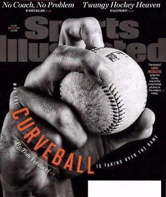 SPORTS ILLUSTRATED MLB HOUSTON ASTROS Curveball MAY 2017 WORLD SERIES Champs NEW