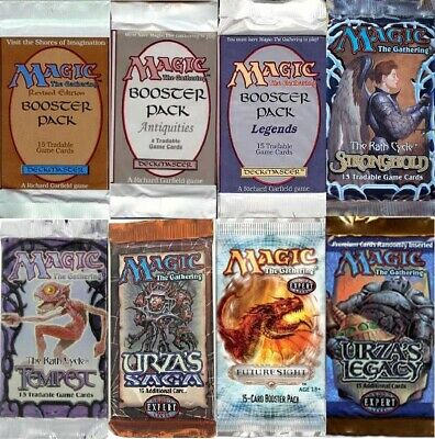 Magic The Gathering Vintage Booster Packs Only 400 Packs Total Revised Unlimited
