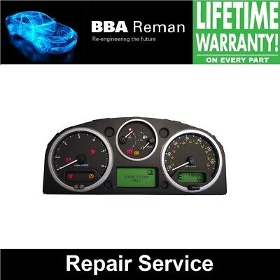Land Rover Discovery 3 Cluster **Repair Service with Lifetime Warranty!**