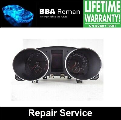 VW Golf MK6 Instrument Cluster **Repair Service with Lifetime Warranty!**