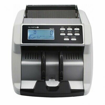 Olympia Banknote Counter Nc 570 Money Tester with 100% Counterfeit Detection