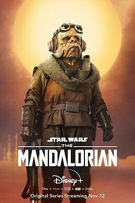 Star Wars The Mandalorian poster (f)  -  11 x 17 inches - Star Wars poster