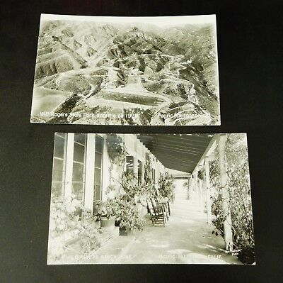 Will Roger State Park Pacific Palisades California Santa Monica Rppc Real Photo