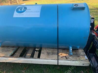 NEW Atlantic Feedwater Systems Steam Boiler Feed Water Tank 6' x 3' 330 Gallon