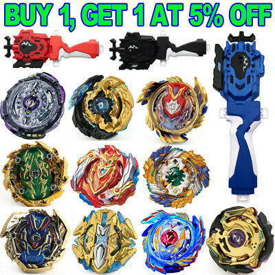 Beyblade Burst Beylauncher L&R String Launcher Grip Set Battle Fight Kid Toys ~