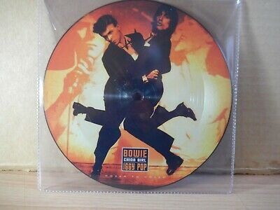 """David Bowie/Iggy Pop - China girl (2019 Cover To Cover) 7"""" Picture Disc"""