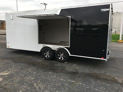 New 2020 Aluminum Enclosed Car Haulers 8.5 Wide X 16' To 28' In Stock Now