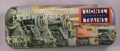 Lionel Train Collectible Watch And Metal Tin ~ Excellent Condition Needs Battery