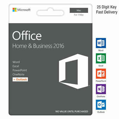 Office 2016 Home & Business for MAC Key