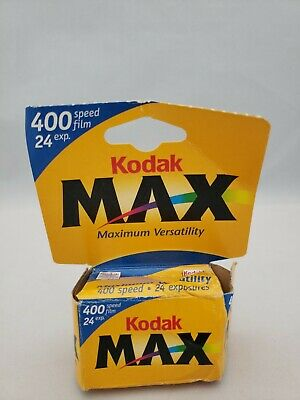 Kodak Max Versatility 400 Film 24 Exposures. Exp 08/2002 Never Opened