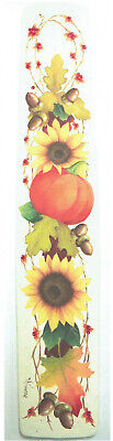 "Dorothy Whisenhunt tole painting pattern ""Sunflowers & Pumpkin Greeting"""