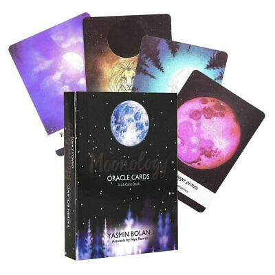 Moonology Oracle Cards A 44-Card Deck by Yasmin Boland English