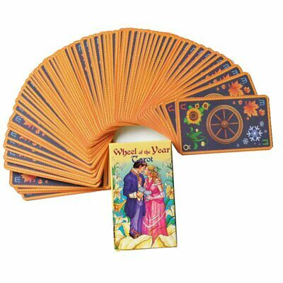 Wheel of the Year Tarot Oracle Deck Pagan Wiccan Cards English Languages