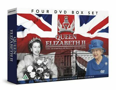 Queen Elizabeth II THE DIAMOND JUBILEE COLLECTION 4 DVD GIFT SET - DVD  IWLN The