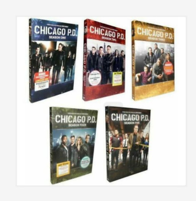 Chicago P.D. PD - The Complete Series Seasons DVD Set 1-5 New Sealed 1 2 3 4 5
