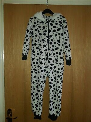 Childs Dalmatian All in one lounge wear/ pyjamas Age 3 - 4 Years
