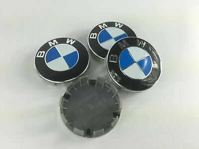 Set of 4 Alloy Wheel Centre Caps for BMW.  68mm 1 3 5 7 Series E F M X