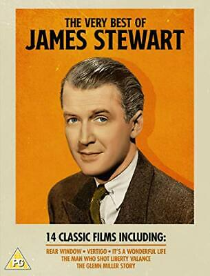 The Very Best of James Stewart - 14 Film Collection Box Set [DVD]... - DVD  VQVG