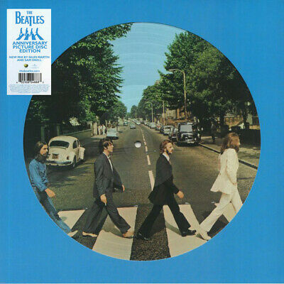 """The Beatles Abbey Road 50Th Anniversary Picture Disc 12"""" Vinyl Lp New Sealed"""