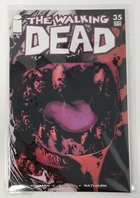 The Walking Dead TWD Issue #35 Image Comics NM 1st Print Bagged and Boarded