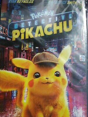 Pokémon Detective Pikachu (DVD, 2019 - Ryan Reynolds) New & Sealed FREE Shipping