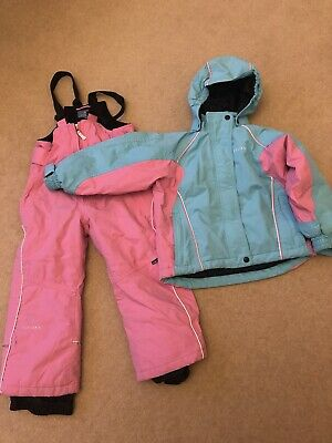 Girls Cross Snow Ski Suit, Ski Jacket & Ski Trousers Age 4-5