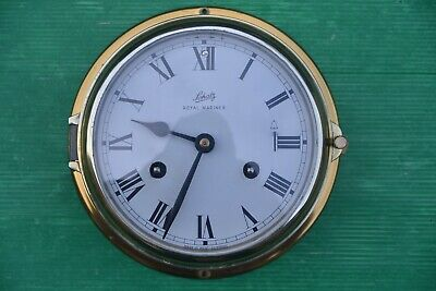 Antique 1950'S Schatz Maritime Royal Mariner Clock Made In Germany