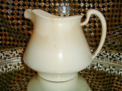 Antique 1921 Homer Laughlin Empress 21N China Cream Pitcher Creamer Large