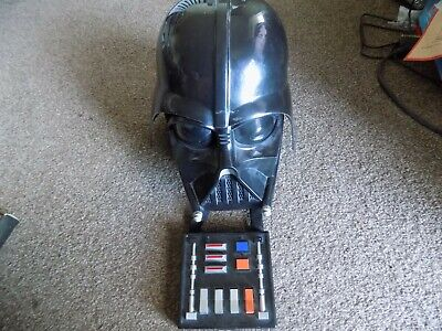 Classic Darth Vader Mask With Sound Box Working