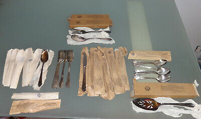 37 NEW Oneida WM Rogers A1 Plus MEADOWBROOK Heather 1936 Silver Plate Flatware