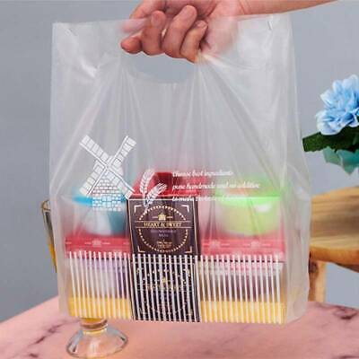 Plastic Cookie Carrier Packing Bag - Modern Printed Strong Gift Shopping Bags Z