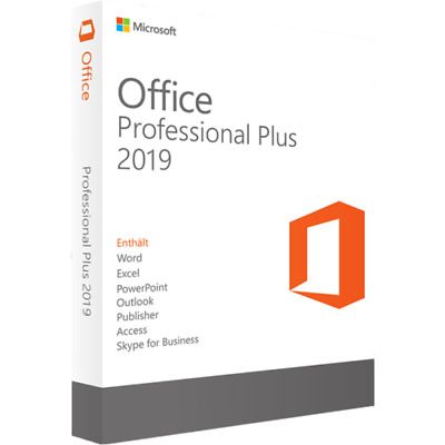Microsoft Office 2019 Pro Plus 32/64 Lifetime License Key 1 PC/ INSTANT DELIVERY