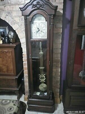 Grandfather Clock c.woods and sons with key