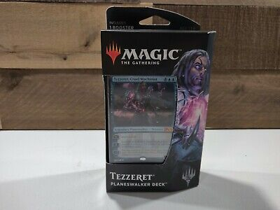Magic the Gathering MTG Magic Core Set 2019 Tezzeret Planeswalker Deck - Blue