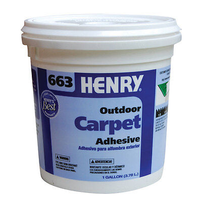 Henry 663 Outdoor Carpet High Strength Paste Adhesive 1 gal