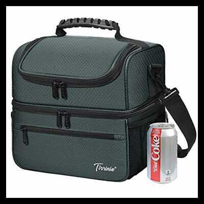 Extra LARGE Lunch Bag 13L/ 22 Can Insulated & Leakproof Adult Reusable Meal Prep