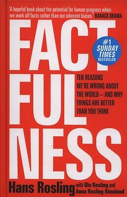 NEW Factfulness By Hans Rosling Paperback Free Shipping