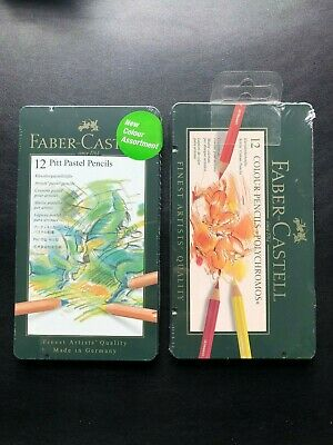 Faber Castell - Pitt Pastel / Polychromos Colour LOT OF 2 PACK