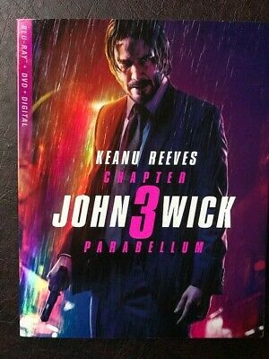 John Wick: Chapter 3 - Parabellum (Blu-ray + DVD) MINT