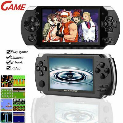 "64 Bit 4.3"" PSP Portable Handheld Game 8GB Console Player 10000+Games +Camera"