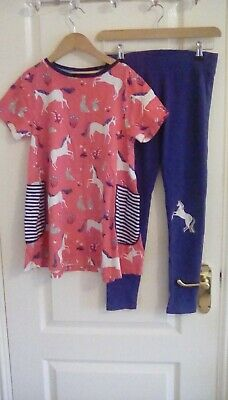 Mini Boden  girl's 2 piece set (dress and leggings) - age 11-12Y