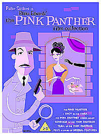 SEALED The Pink Panther Film Collection DVD 2006 6-Disc Set peter sellers comedy