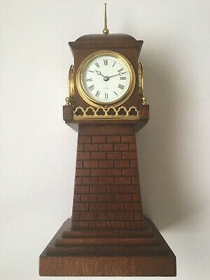 Rare 4 Dial Lighthouse Clock By Henry Marc C1890
