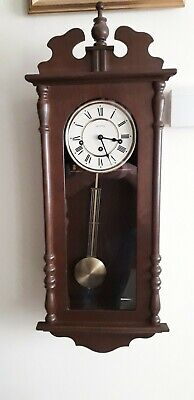 Hermle Westminster Chimes  Wm Widdop German Vienna Wall Clock With On Off Switch